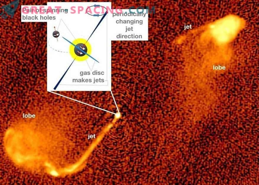 Cosmos grouillant de fusion de trous noirs?