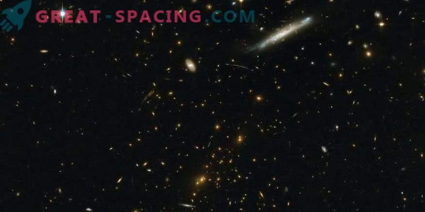 Hubble et HAWK-I étudient la congestion massive