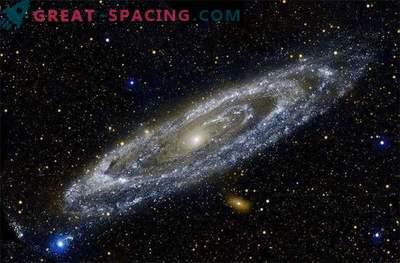 Notre auréole de galaxie et d'Andromède pourrait toucher