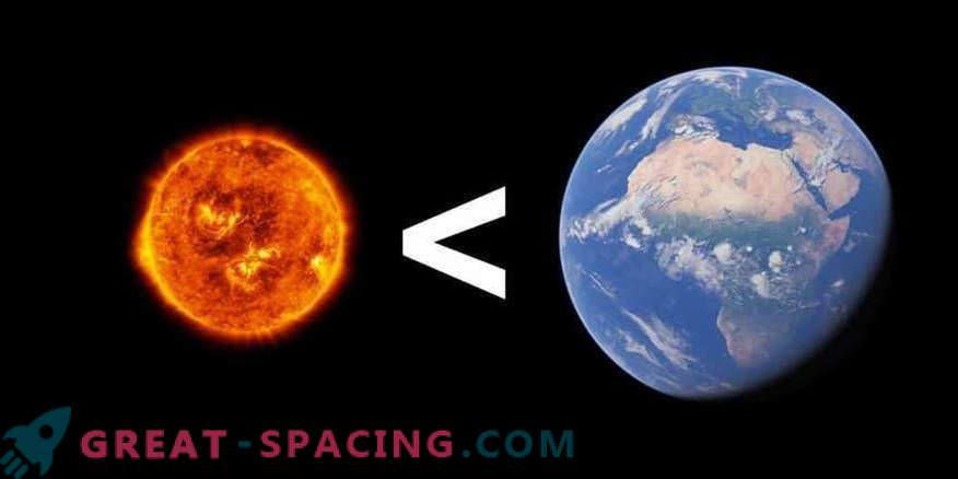 Et si le Soleil était plus petit que la Terre