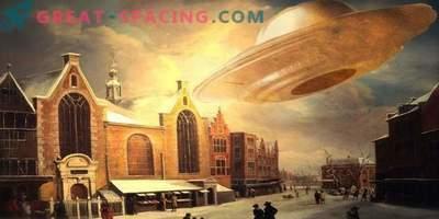 Quelles lumières vives ont été vues à Nuremberg en 1561. Histoires de témoins et de versions d'ufologues