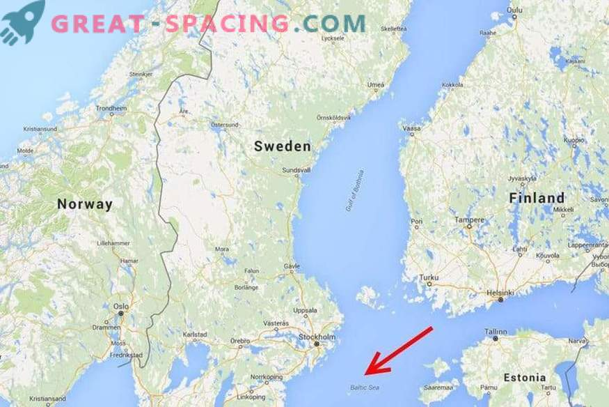 Anomalie de la mer Baltique: traces d'un navire extraterrestre ou d'une formation inconnue de la science?