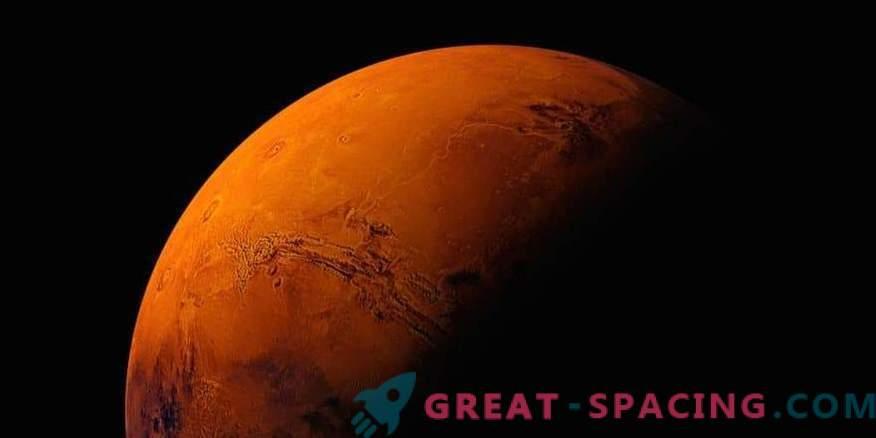 Surprise de l'équateur martien
