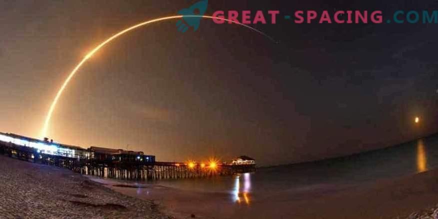 SpaceX lance un satellite de communication