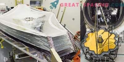 """Image: """"Décorations"""" du télescope de James Webb"""