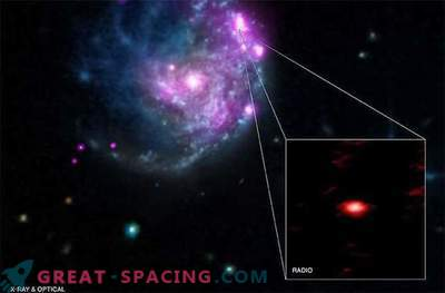 Une classe rare de trous noirs forme la zone morte galactique