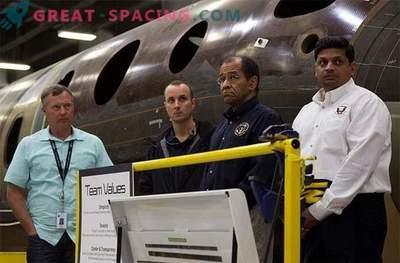 Viel Glück hat dem zweiten Piloten von SpaceShipTwo das Leben gerettet