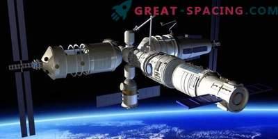 La Chine est prête à créer une station orbitale et à mesurer avec des roquettes avec Ilon Mask