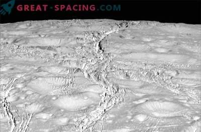 Les sondes Cassini Enceladus, de superbes photographies