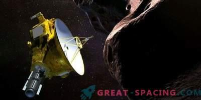 Le vaisseau spatial de la NASA s'approche d'un objet distant