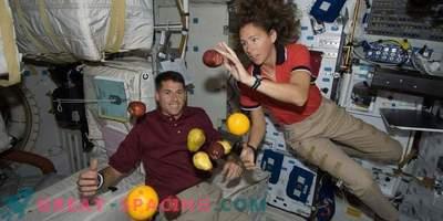 L'apesanteur augmente la température corporelle des astronautes