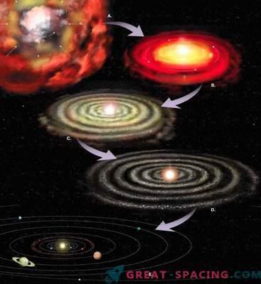 Comment Saturne a été formé