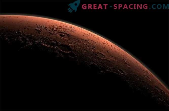 Le métal pleuvait sur Mars