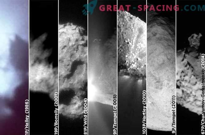 7 stikov s kometi