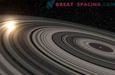 Système d'anneau géant autour des exoplanètes