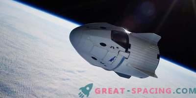 SpaceX visar besättningsmössan till Crew Dragon
