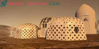 À quoi ressembleront les colonies sur Mars? Nous vous proposons 3 options