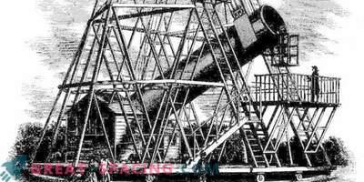 A quoi ressemblait le télescope géant de William Herschel
