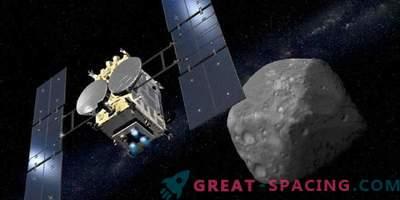 Hayabusa-2 wird nächsten Monat versuchen, die erste Asteroidenprobe abzubauen