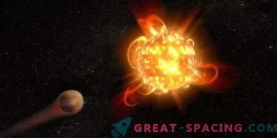 De puissants éclats de naines rouges menacent les planètes