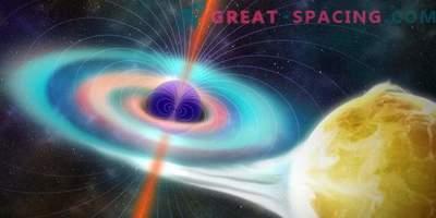 Magnetizem črnih lukenj je bil šibkejši