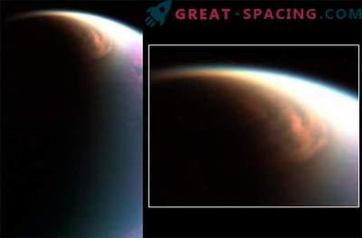 Cassini a découvert des cristaux de méthane dans l'atmosphère de Titan