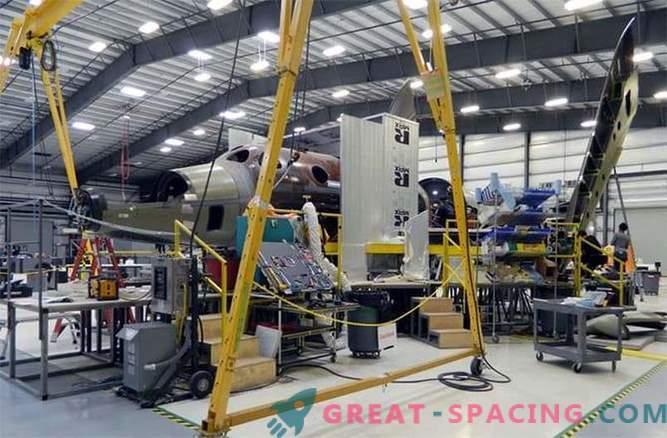 Virgin Galactic travaille sur un nouveau SpaceShipTwo