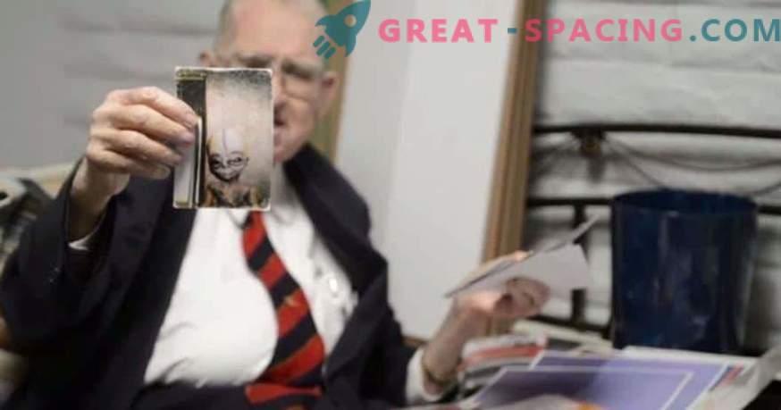 Boyd Bushman assure qu'il s'agit de photos d'une créature extraterrestre
