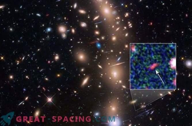Les astronomes ont repéré la galaxie la plus lointaine