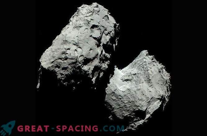 couleur réelle de la comète 67P / Churyumov-Gerasimenko