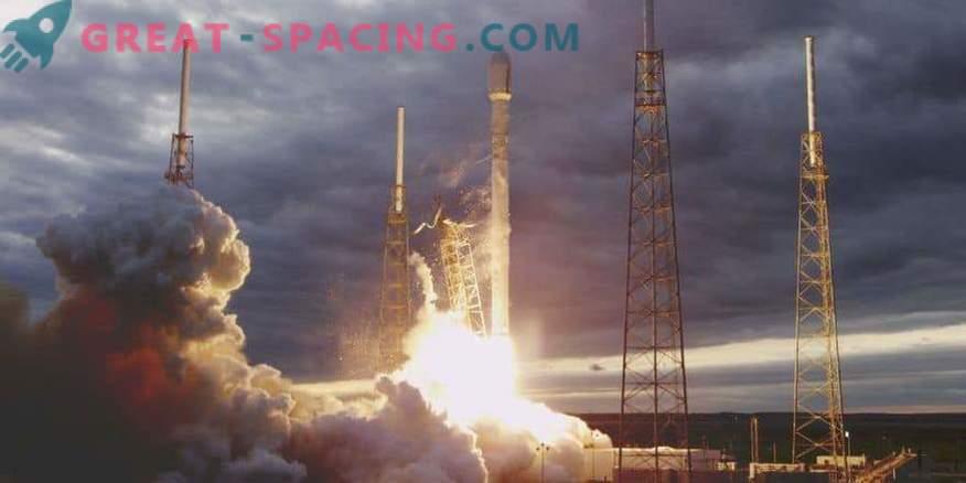 La fusée SpaceX lancée avec une nouvelle paire de satellites