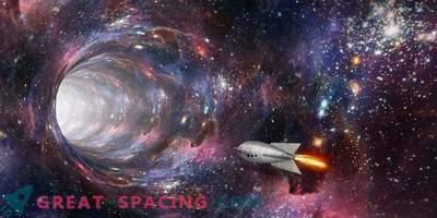 Les trous noirs rotatifs peuvent servir de portails.
