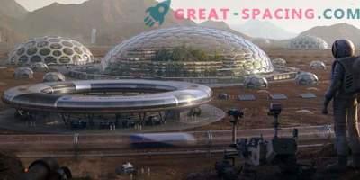 Страхотни проекти показват бъдещето на марсианската колонизация