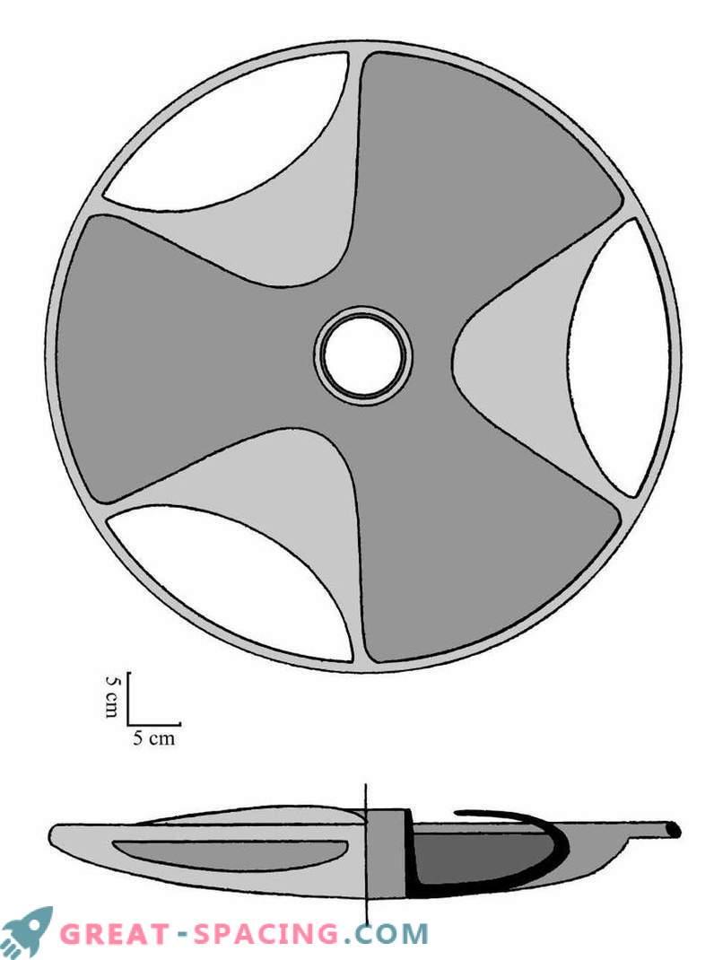 Les ufologues pensent que le disque de Sabu pourrait bien être un ancien modèle de soucoupe volante
