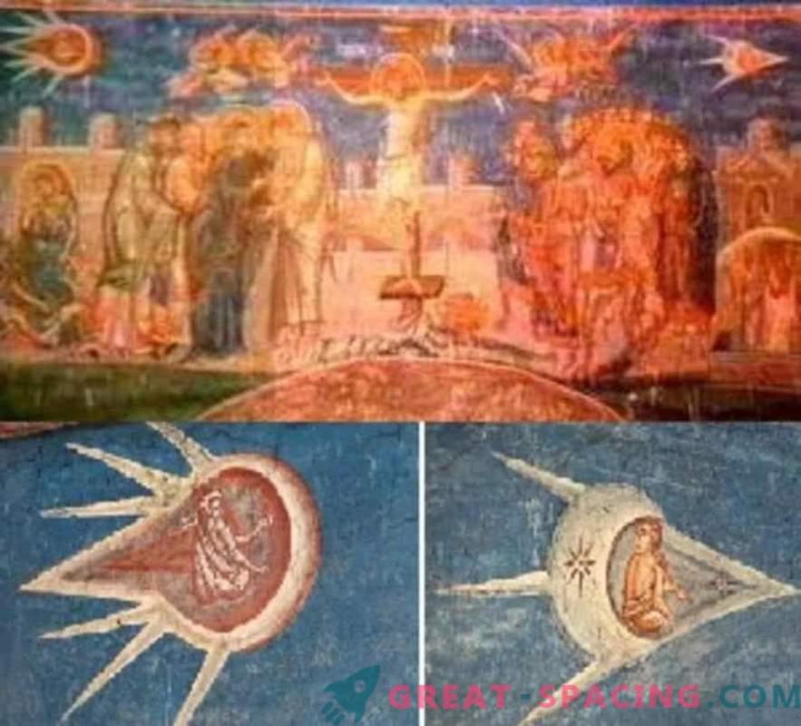 Les ufologues pensent que ces 12 peintures anciennes montrent des êtres extraterrestres