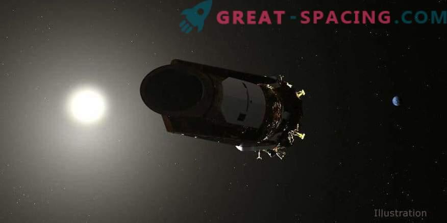 3182fd29edb4d9 Dernières commandes du légendaire télescope spatial Kepler