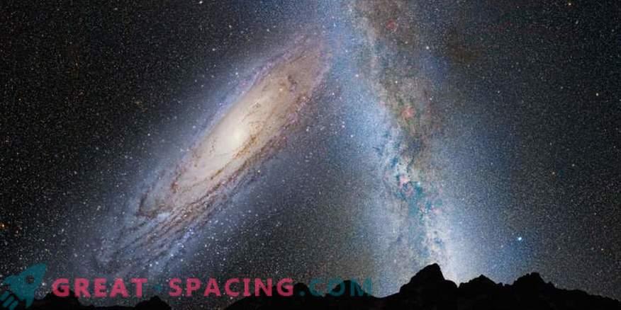 Maintenant, les scientifiques savent exactement quand nous rencontrons la galaxie d'Andromède