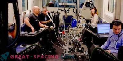 Expériences sur les voies respiratoires des astronautes