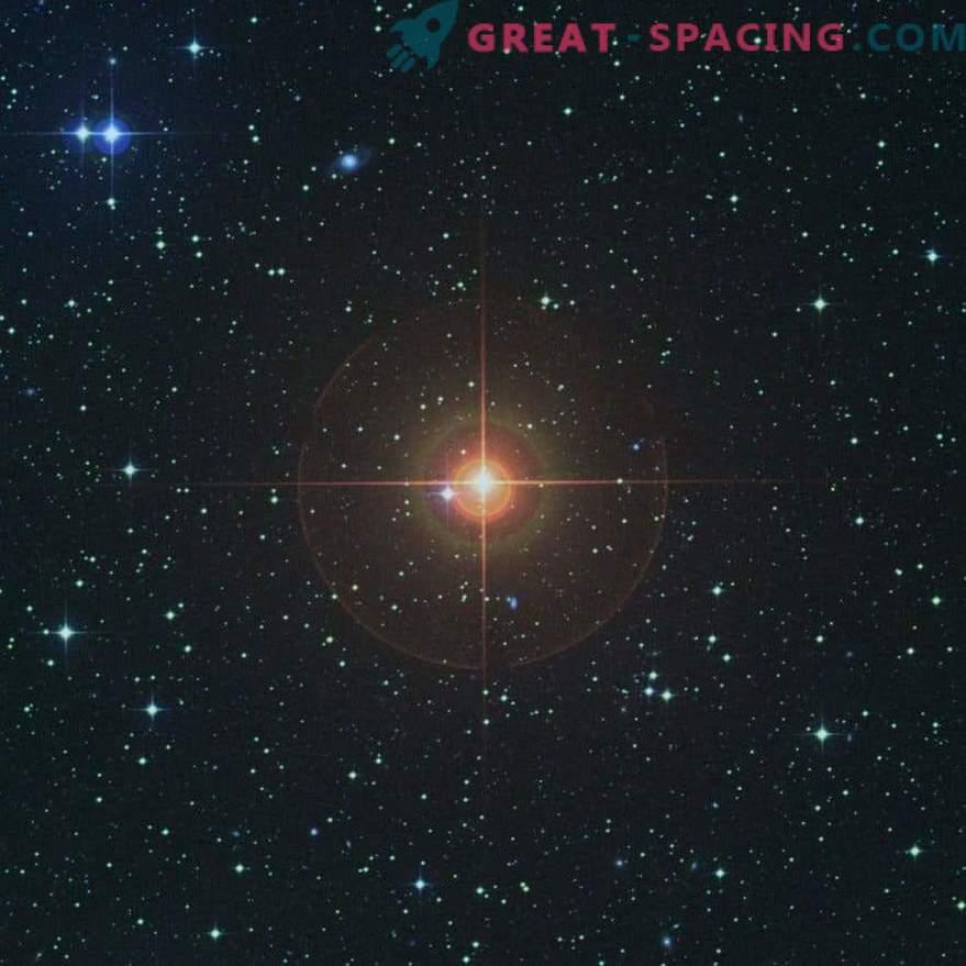La géante rouge montre l'avenir du soleil.