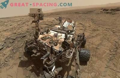 Étude des anciennes eaux de Mars par le rover Curiosity: photo