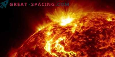 Solar energy particles and jets