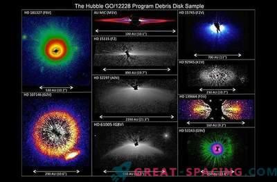 Hubble a vu une énorme poussière d'étoiles: Photo