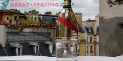 Champagne dans l'espace! Une bouteille de Zero-G permet aux touristes de prendre un verre dans cet espace infini