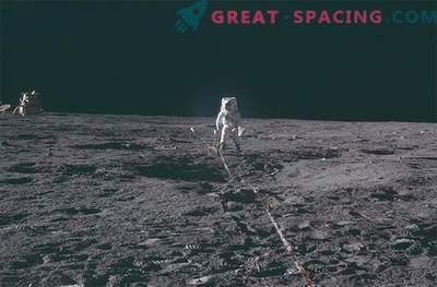 Mission Apollo: photos inspirées de l'étude de la lune