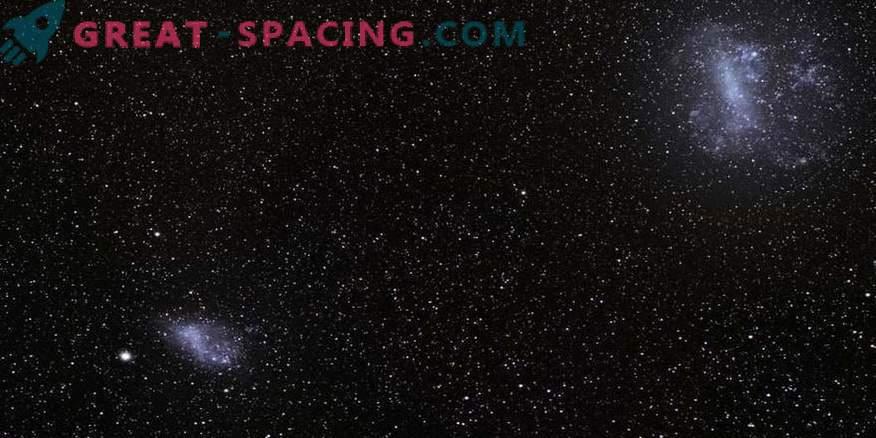 Des paires de petites galaxies en collision sont capables de semer de futures étoiles
