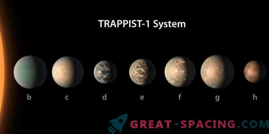 Planet Stars TRAPPIST-1 peut être convivial