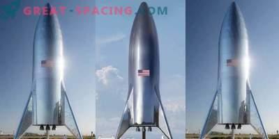 Ilon Musk présente un prototype de fusée martienne