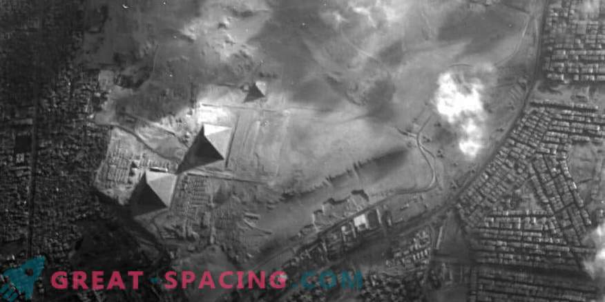 Le satellite Proba-1 capture les pyramides