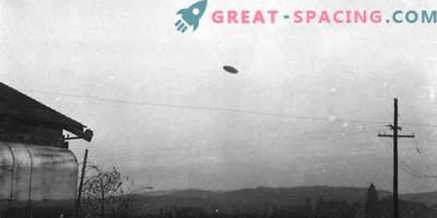 Nesreča v Oregonu - 1950. Ali lahko kmet posname nepoznan objekt