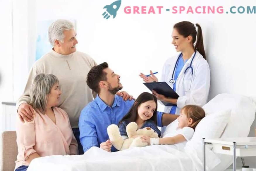 Aide pour les adultes: appelez un médecin dans une clinique pour adultes, prenez rendez-vous avec un dentiste en ligne
